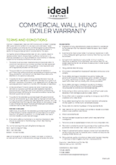 Cover Evomax Boiler Warranty