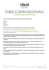Cover Free Commisioning